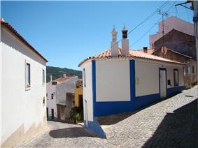 Typical Monchique street