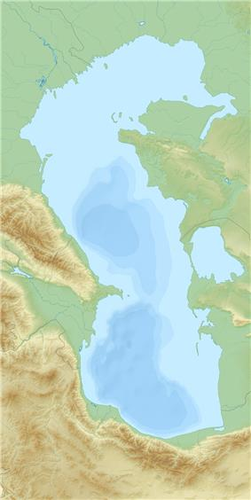 Pirallahi is located in Caspian_Sea