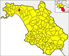 Castiglione within the Province of Salerno