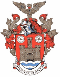 Arms of the former Castleford Borough Council