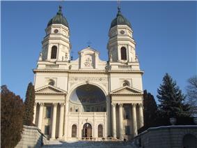 Metropolitan Cathedral at Iaşi