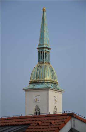 Cathedral of St Martin, Bratislava - tower.JPG