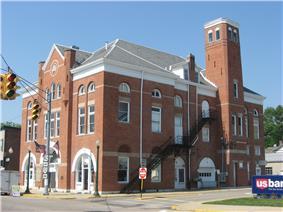Cedarville's historic opera house