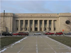 Indianapolis Marion County Public Library Front