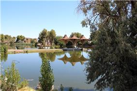 West side of California City Central Park