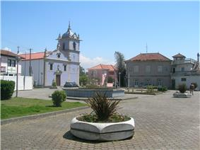 The main square of Argoncilhe