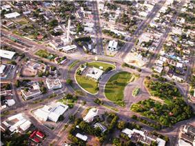Aerial view of Centro Civico Square