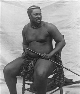 Cetshwayo kaMpande of Zulu Kingdom