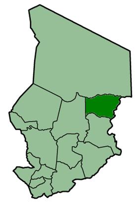 Location of Biltine