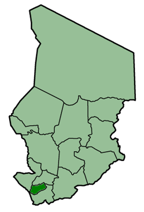Location of Logone Occidental