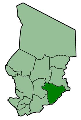 Location of Salamat