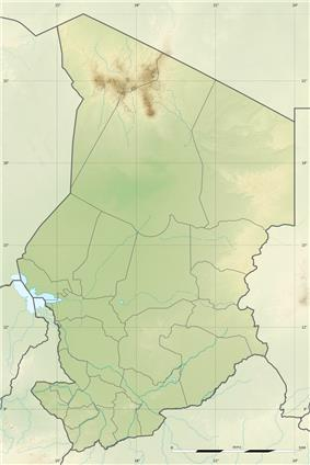 Emi Koussi is located in Chad