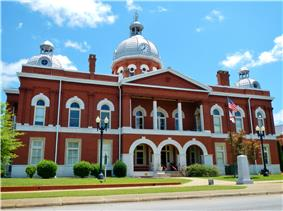 Chambers County Courthouse Square Historic District
