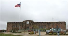 Old Armory in Chandler, now a Route 66 Museum