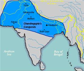 Chandragupta mauryan empire 305 BC.png
