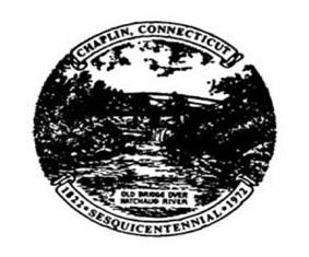 Official seal of Chaplin, Connecticut