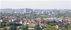 Skyline of Charleroi