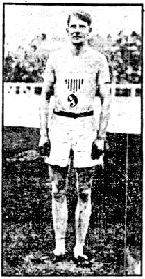 Charles J. Bacon Jr. at the 1908 Olympic Games.