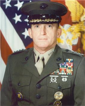 color photograph of Charles C. Krulak
