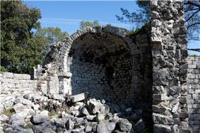 Ruins of the chateau