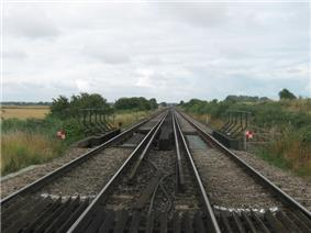 The Chatham Main Line crosses the River Wantsum