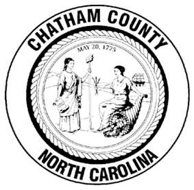 Seal of Chatham County, North Carolina
