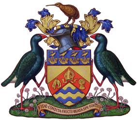 Coat of arms of Christchurch