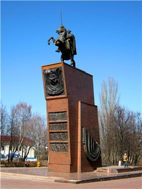 Cheboksary. Monument of Vasily Chapaev.jpg