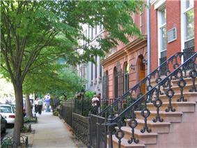 A Chelsea streetscape