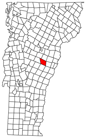 Located in Orange County, Vermont