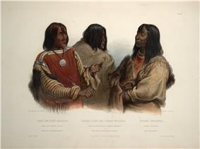 Chief of the Blood indians War chief of the Piekann indians and Koutani indian 0079v.jpg