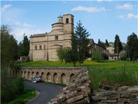 The church of San Bernardino near Urbino.