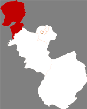Location in Anshan City