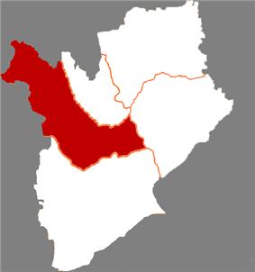 Location of Taonan