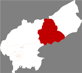 Location of the city