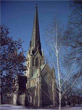 Exterior view of Christ Church Cathedral
