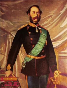 Portrait of Christian IX by Hans Olrik