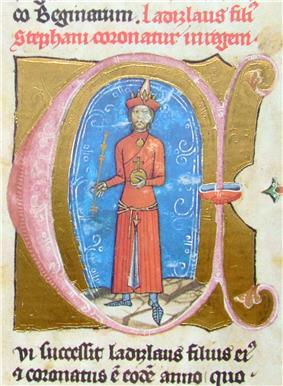 Ladislaus in Cuman apparel