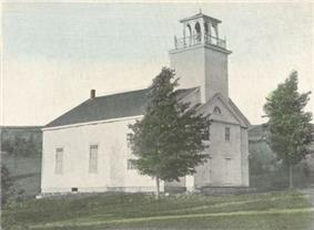 Deering Community Church (built 1829) c.1903