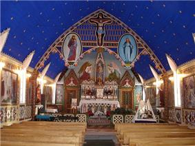 interior of Church of Our Lady of Good Hope