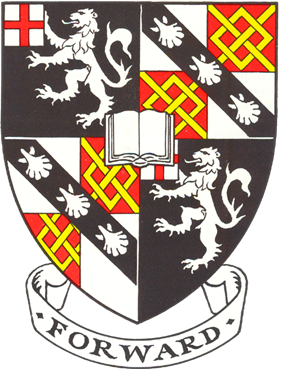Churchill College heraldic shield