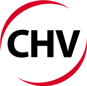 The CHV's current logo Since 2015