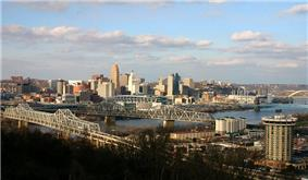 Downtown Cincinnati from Covington, Kentucky