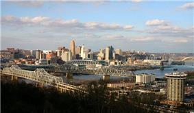 Downtown Cincinnati from Covington, Kentucky