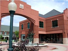 City Center Square in downtown Coralville