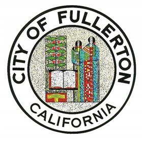 Official seal of Fullerton, California