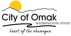 Official logo of Omak