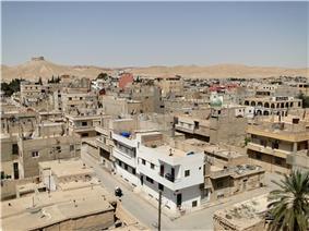 The modern town of Tadmur