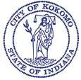 Official seal of Kokomo, Indiana
