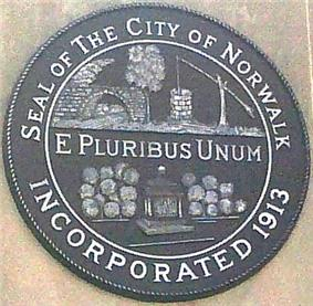Official seal of Norwalk, Connecticut